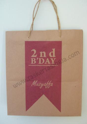 Tas Kertas Murah Musyaffa Birthday Jakarta