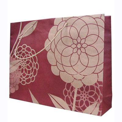 tas kertas bunga marun 63