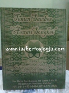 Shopping Bag Tenun Sambas Kalimantan Barat
