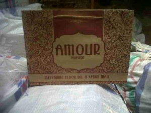 Shopping Bag Amour Perfume Kediri