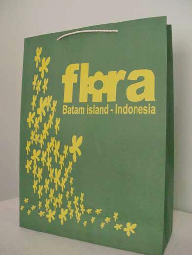 Tas Kertas Murah Flora Batam Island